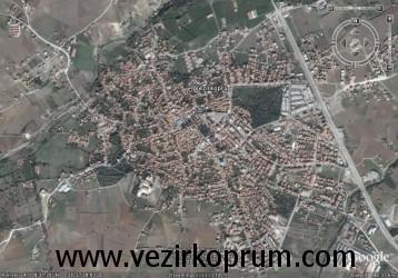 vezirköprü harita